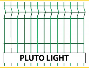 Fence panel PLUTO LIGHT 1230x2500 / ZN+PVC6005
