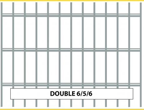 Panel DOUBLE 6/5/6 / 1230x2500 / HNZ