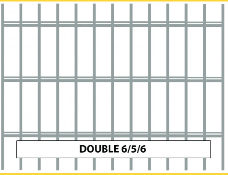 Panel DOUBLE 6/5/6 / 1430x2500 / HNZ