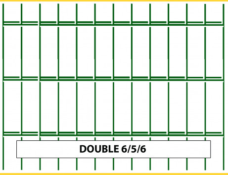 Panel DOUBLE 6/5/6 / 1030x2500 / ZN+PVC6005