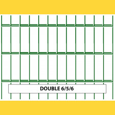 Panel DOUBLE 6/5/6 / 1830x2500 / ZN+PVC6005