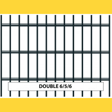 Panel DOUBLE 6/5/6 / 1630x2500 / ZN+PVC7016