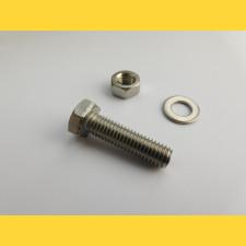 Skrutka ZN / M8x30 / komplet (skrutka, matica, podložka)