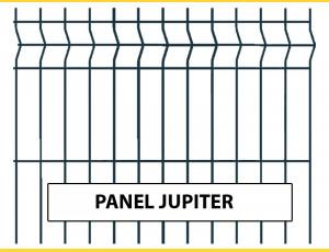 Fence panel JUPITER 1230x2500 / ZN+PVC7016