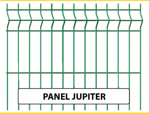 Fence panel JUPITER 1230x2500 / ZN+PVC6005