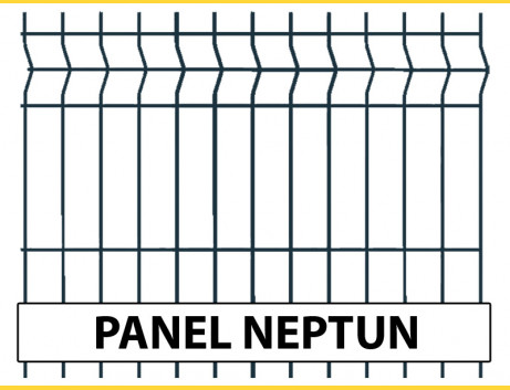 Panel NEPTUN 1530x2500 / ZN+PVC7016