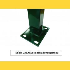 Stĺpik GALAXIA 60x40x1,50x1400 s pätkou / ZN+PVC6005