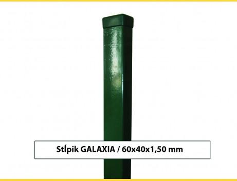 Stĺpik GALAXIA 60x40x1,50x1800 s pätkou / ZN+PVC6005