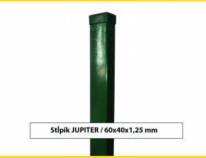 Stĺpik JUPITER 60x40x1,25x2000 / ZN+PVC6005