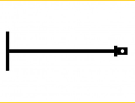 Kľúč - zavŕtavak zemných skrutiek D48