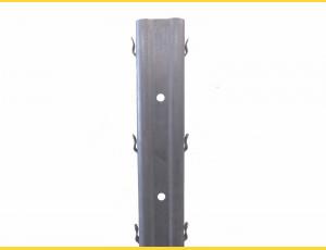 Vineyard post continuous DEVÍN / 50x30x1,50x2500 SH / S250GD+Z275 / ZN / standard hooklet