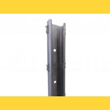 Stĺpik vinohrad. radový DEVÍN / 50x30x1,50x2500 SH / S250GD+Z275 / ZN / štandardné háčiky