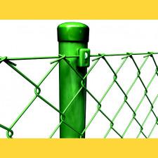 Stĺpik okrúhly poplastovaný (BPL) 38x1,25x1750 / ZN+PVC6005
