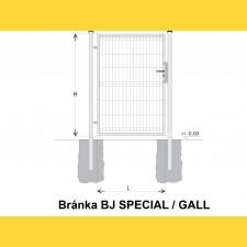 Brána BJ SPECIAL 1700x1000 / GALL / HNZ