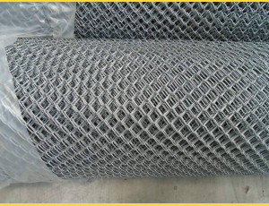 Chain link fence 20/1,80/100/10m / ZN