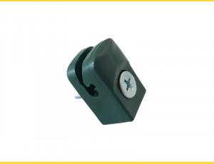Vodiaca spinka so skrutkou na napínací drôt / zelená / bal.10ks