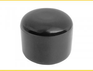 Čiapočka PVC 38 mm / čierna