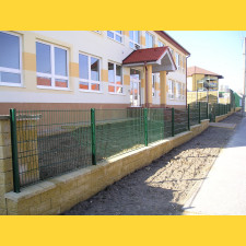 Panel DOUBLE 6/5/6 / 1230x2500 / ZN+PVC6005