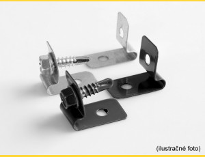 Clip L-CLIP / ZN / complete with screw