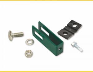 Clip U43 / 4mm / ZN+PVC6005 / complete