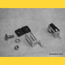 Príchytka U43 na panel / 5mm / HNZ / kompletná