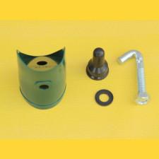 Násadka na vzperu 38mm / PVC / zelená / kompletná