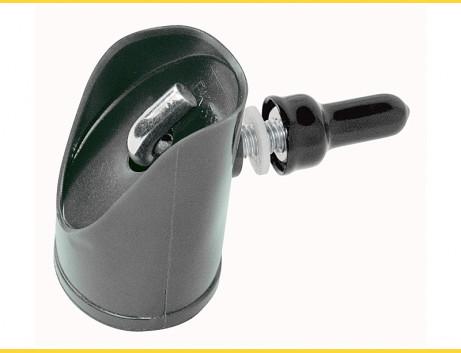 Násadka na vzperu 38mm / PVC / čierna / kompletná