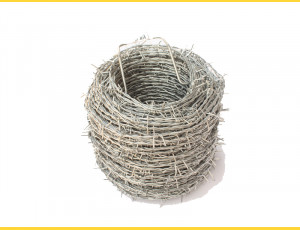 Barbed wire 2,0/1,8 / 100m / ZN