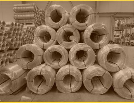 Drôt PVC 2,70-1,70 / kg / ZN+PVC6005