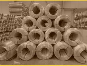 Drôt PVC 3,00-2,00 / kg / ZN+PVC6005