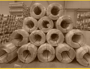 Drôt PVC 3,50-2,50 / kg / ZN+PVC7016