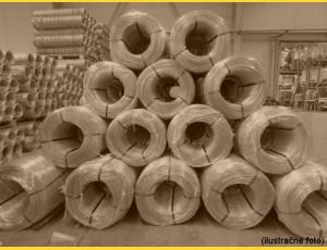 Drôt PVC 4,00-3,00 / kg / ZN+PVC6005