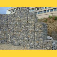 Gabiony Blok 100x100mm / 4,00mm / 300x 50cm / ZN+AL