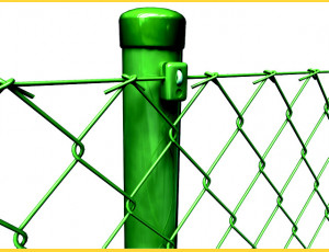 Stĺpik poplastovaný (BPL) 48x1,50x2000 / ZN+PVC6005
