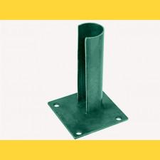 Základová pätka na stlp 38mm / ZN+PVC6005