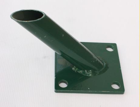 Základová pätka na vzperu 38mm / ZN+PVC6005
