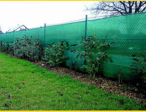 Shade netting 120cm / 180g / 25m / green / without cord