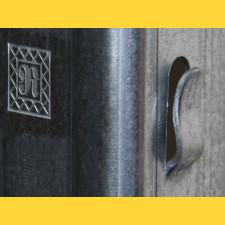 Stĺpik vinohrad. radový DUNAJ / 60x40x1,50x2500 SH / S250GD+Z275 / ZN