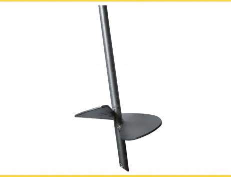 Zemná kotva disková 14x850mm / disk 120x2,50 HNZ