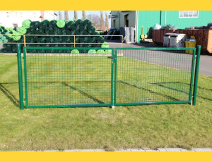 Gate BD ECO 1800x3600 / ZN+PVC6005