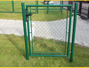 Gate BJ GARDEN 2000x1000 / ZN+PVC6005