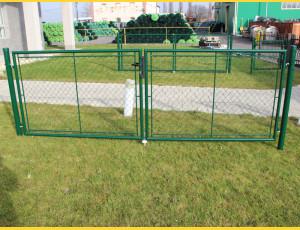 Gate BD GARDEN 1600x3600 / ZN+PVC6005