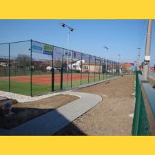 Sada pre tenisový kurt 18x36 m / výška 3000 mm / ZN+PVC6005