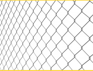 Chain link fence 60/2,00/125/15m / ZN BND