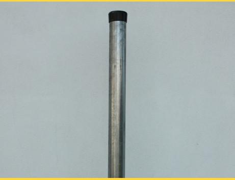 Stĺpik okrúhly pozinkovaný 38x1,25x2000 / ZN