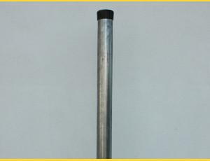 Stĺpik okrúhly pozinkovaný 38x1,25x2500 / ZN
