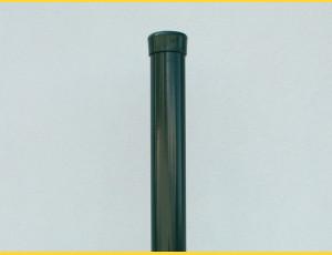 Stĺpik poplastovaný (BPL) 38x1,25x2200 / ZN+PVC6005