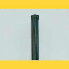 Stĺpik okrúhly poplastovaný (BPL) 38x1,25x2500 / ZN+PVC6005