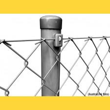Stĺpik okrúhly poplastovaný (BPL) 48x1,50x2000 / ZN+PVC7016
