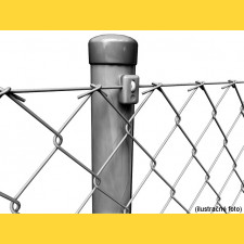 Stĺpik okrúhly poplastovaný (BPL) 48x1,50x2500 / ZN+PVC7016